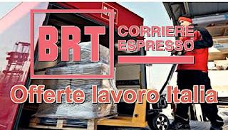 adessolavoro - Offerte lavoro BRT: posti di impiegato da Nord a Sud Italia