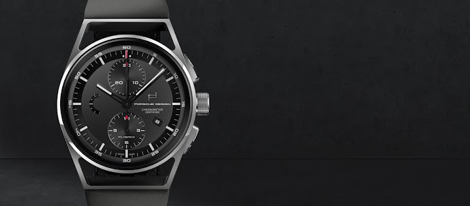 Porsche Design - 1919 Chronotimer Flyback Black & Leather