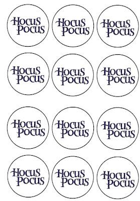 free Hocus Pocus printables