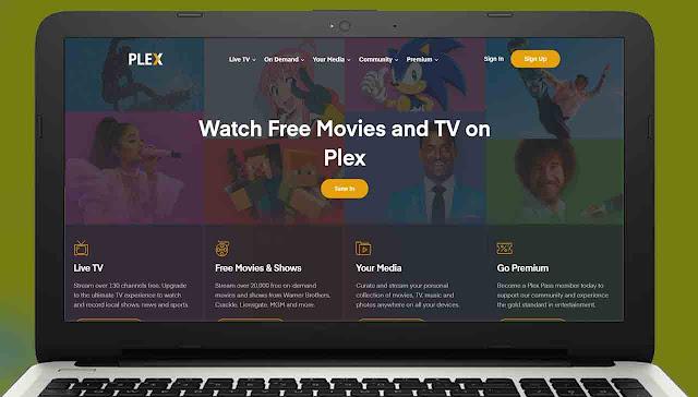 موقع plex.tv لمشاهدة الأفلام مترجمة للعربية