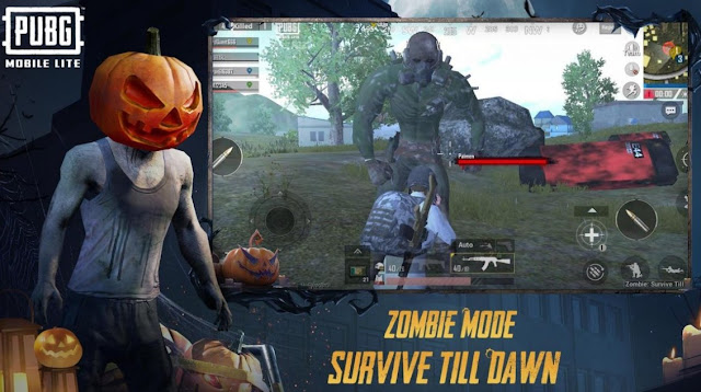PUBG Mobile Lite New Update Version Zombie Mode Gameplay
