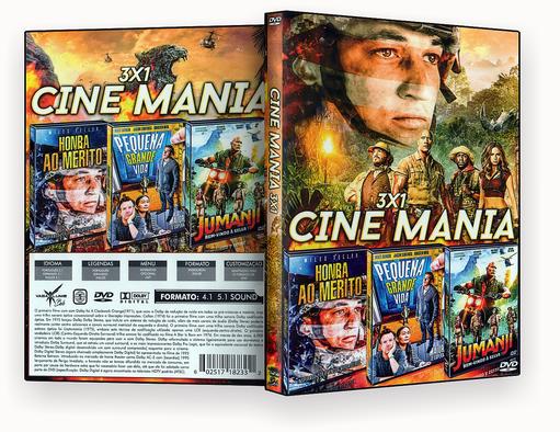 FILMES 3X1 – Trilogia Cine Mania Vol.1 – ISO