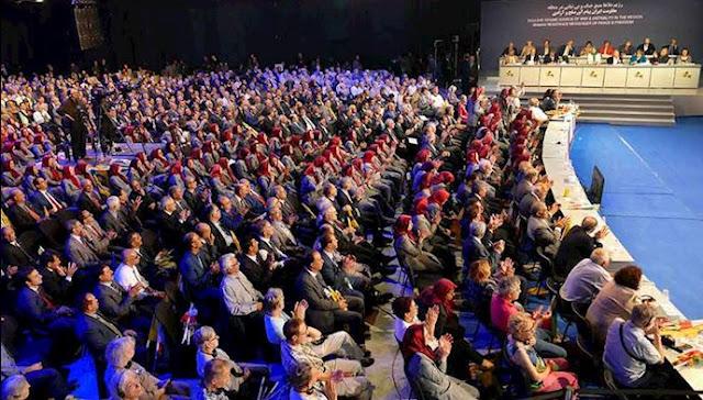 کنفرانس بینالمللی در اشرف ۳ با حضور مریم رجوی ۸ تیر ۹۸