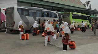 Calon Haji Kotabaru Masuk Asrama Lebih Awal