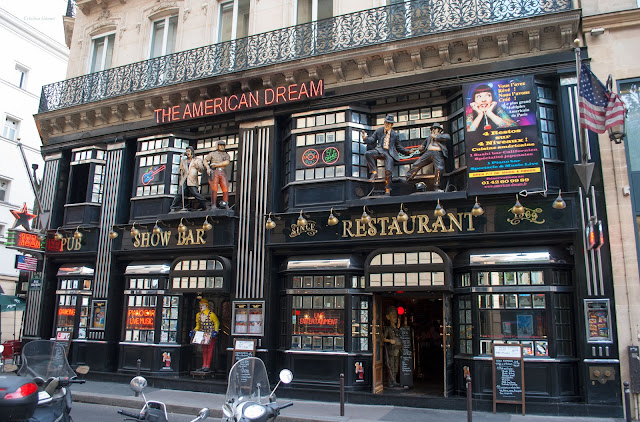 american restaurant paris