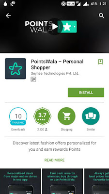 Download PointWala App And Get Rs.150 on SignUp + Earn Rs.25 Per Referral