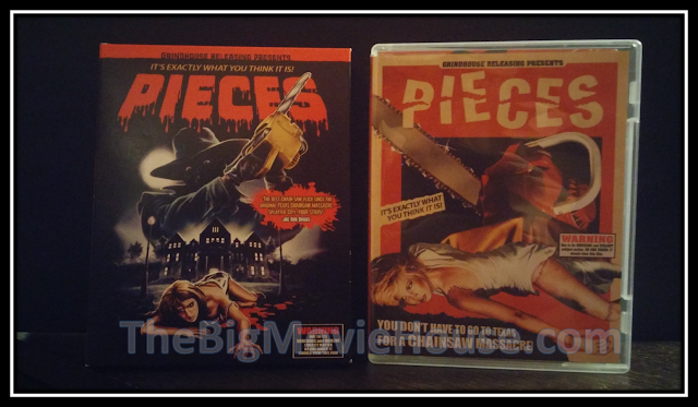 Pieces blu-ray from Grindhouse Releasing