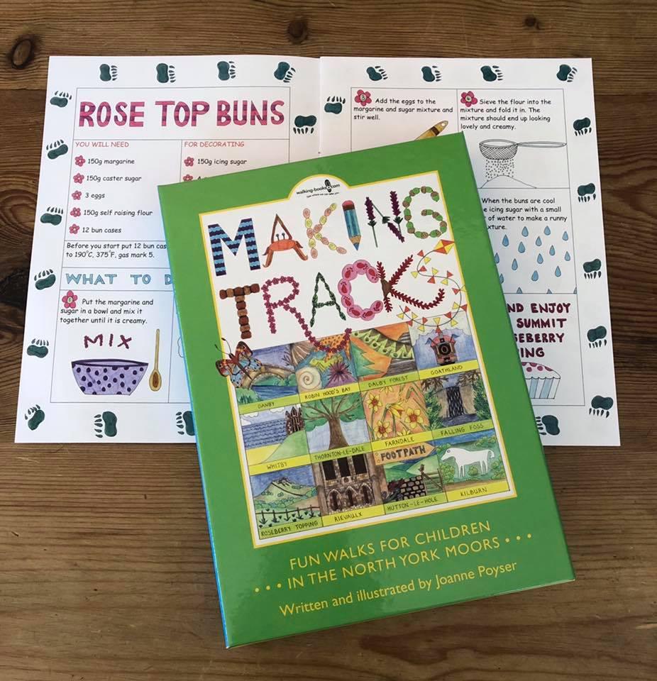 Making Tracks Book from The King's Head Inn Pub near Roseberry Topping