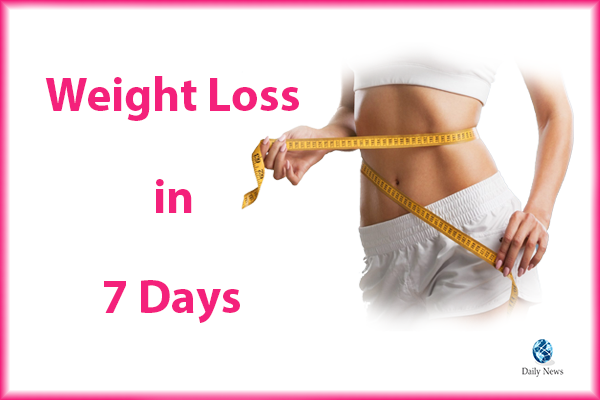 Weight Loss in 7 Days