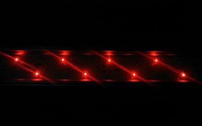 GEXパワーIII赤色LED点灯