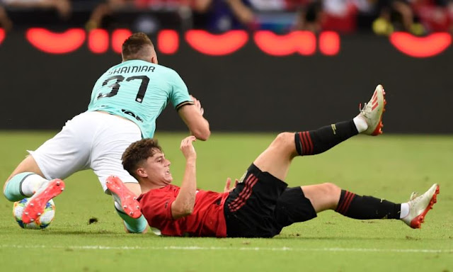 Daniel James Manchester United Vs Inter Milan