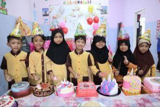 Sambutan Birthday Aisy Di Tadika