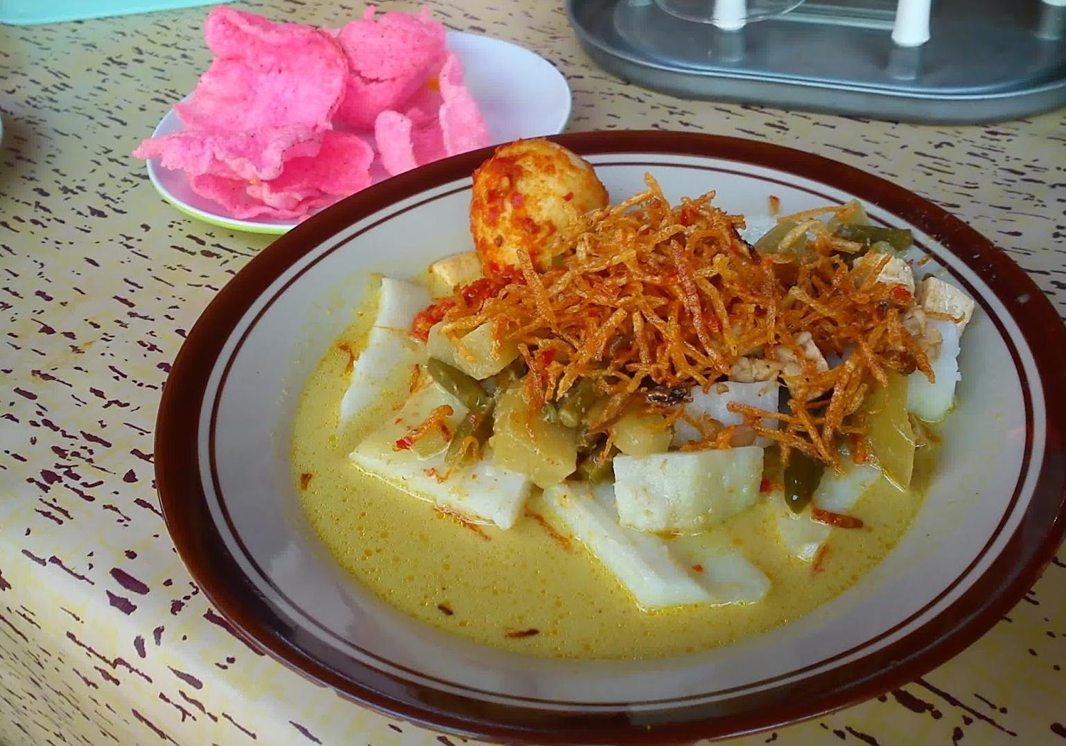 Resep Masakan Indonesia Resep Ketupat Sayur