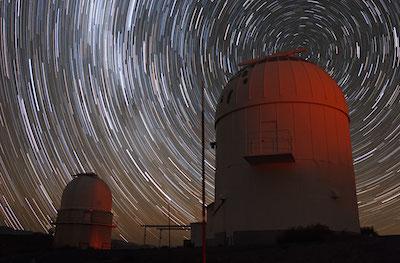 dos telescopios de Observatorio La Silla