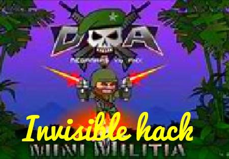 Mini militia invisible hack