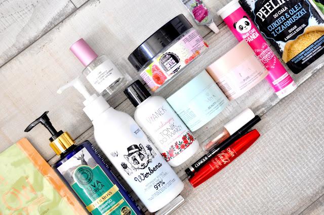 yope, delia, clinique, glamshop, pixi, natura siberica, vianek, efektima, noble health, tołpa, miya cosmetics
