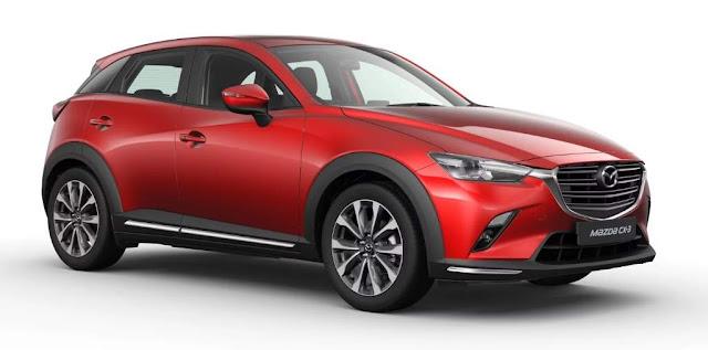 New Mazda CX3 Merah