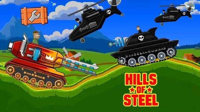 Hills Of Steel مهكرة | تحميل لعبة حرب الدبابات Hills Of Steel مهكرة لأجهزة الأندرويد