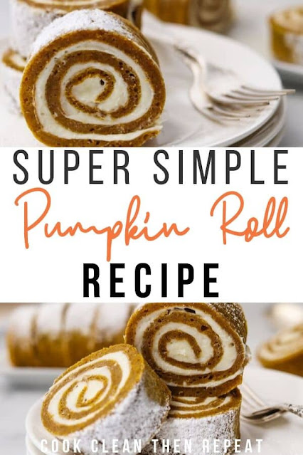 Easy Pumpkin Roll