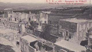 El monasterio estaba en un estado lamentable