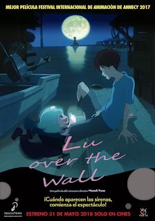 LU OVER THE WALL de Masaaki Yuasa