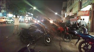 बिगड़ रही शहर की यातायात व्यवस्था