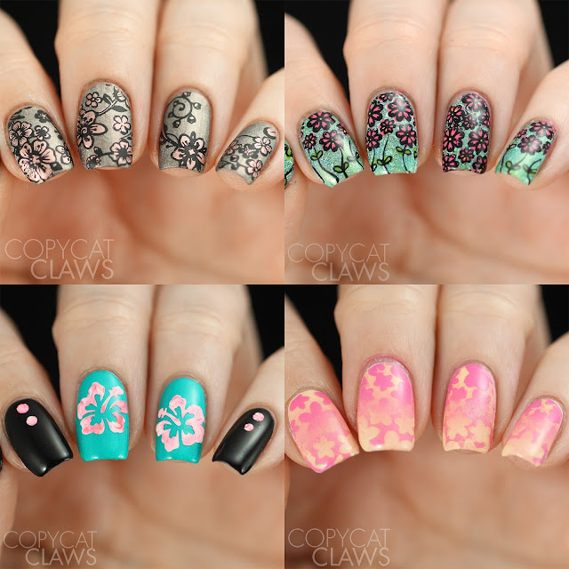 Whats Up Nails Floral Nail Designs