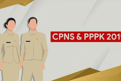 Ini Jadwal Seleksi CPNS dan PPPK 2019