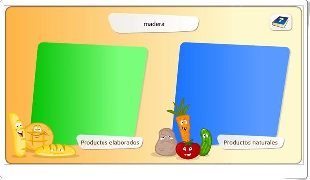 """""""Los productos elaborados"""" (Juego de Ciencias Sociales de Primaria)"""