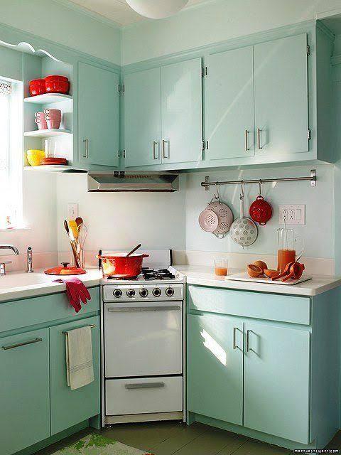 Tasarım: Retro Mutfak Dekorasyonu