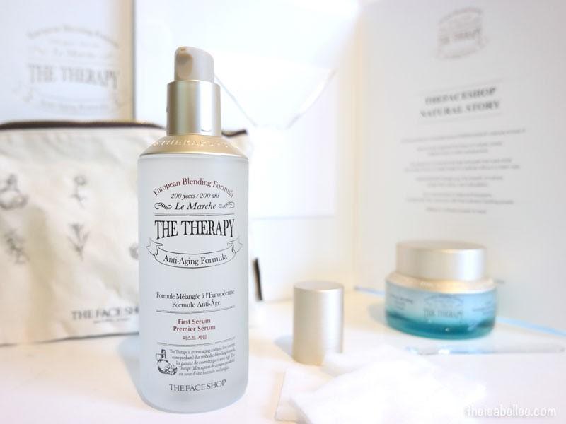 Góc Review - Dòng sản phẩm được xem là 'booster' của Hàn Quốc: The Face Shop The Therapy First Serum có gì đặc biệt?