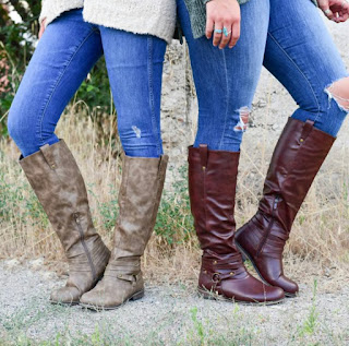 Knee-High Riding Boots- $36.99