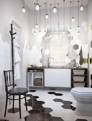 Contoh Keramik Lantai Kamar Mandi Modern