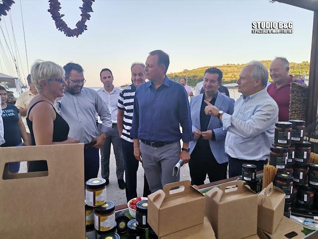 Παρουσία του Υπουργού Αγροτικής Ανάπτυξης άνοιξε τις πύλες του ο Αγροτουρισμός Επιδαύρου