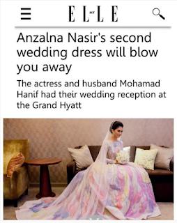 baju kahwin princess anzalna nasir