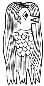 図:アマビエ