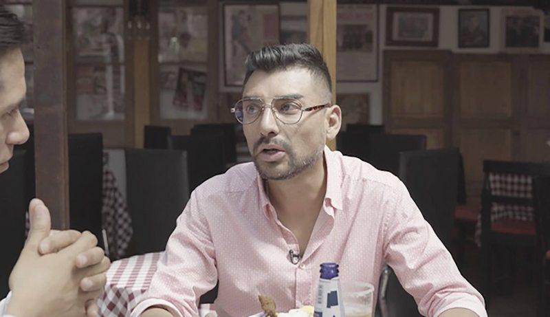 Andrés Caniulef reapareció en TV