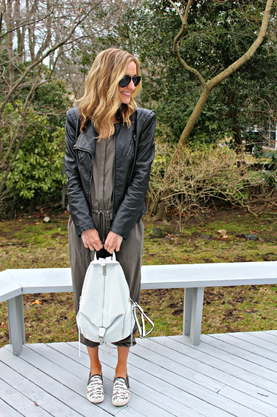blank nyc black leather jacket
