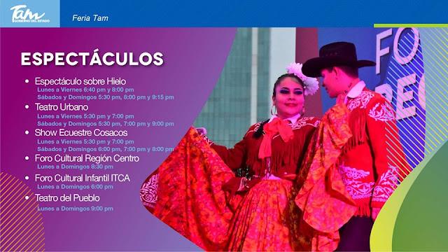 espectáculos feria tamaulipas 2019
