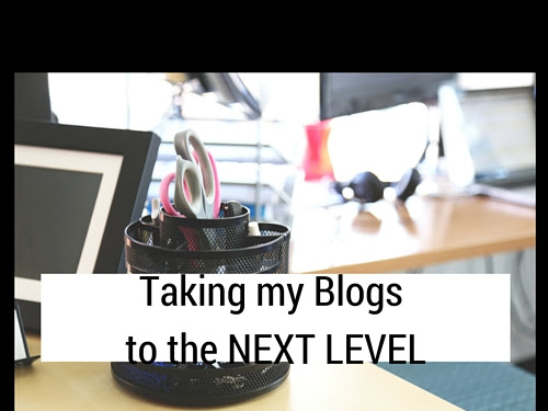 Taking My Blogs to the Next Level