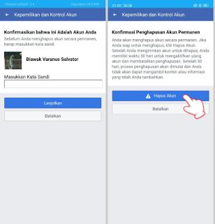 Cara Hapus atau Nonaktifkan Facebook dengan FB Lite