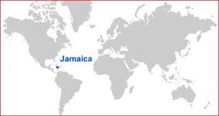 Gambar Peta lokasi Jamaika