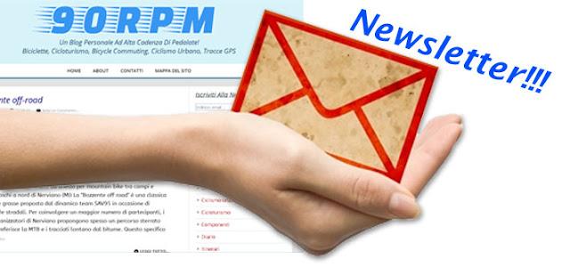 Ricevi un avviso via email ad ogni nuovo articolo pubblicato