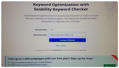Keyword Checker (الفحص بإستخدام الكلمات المفتاحية)