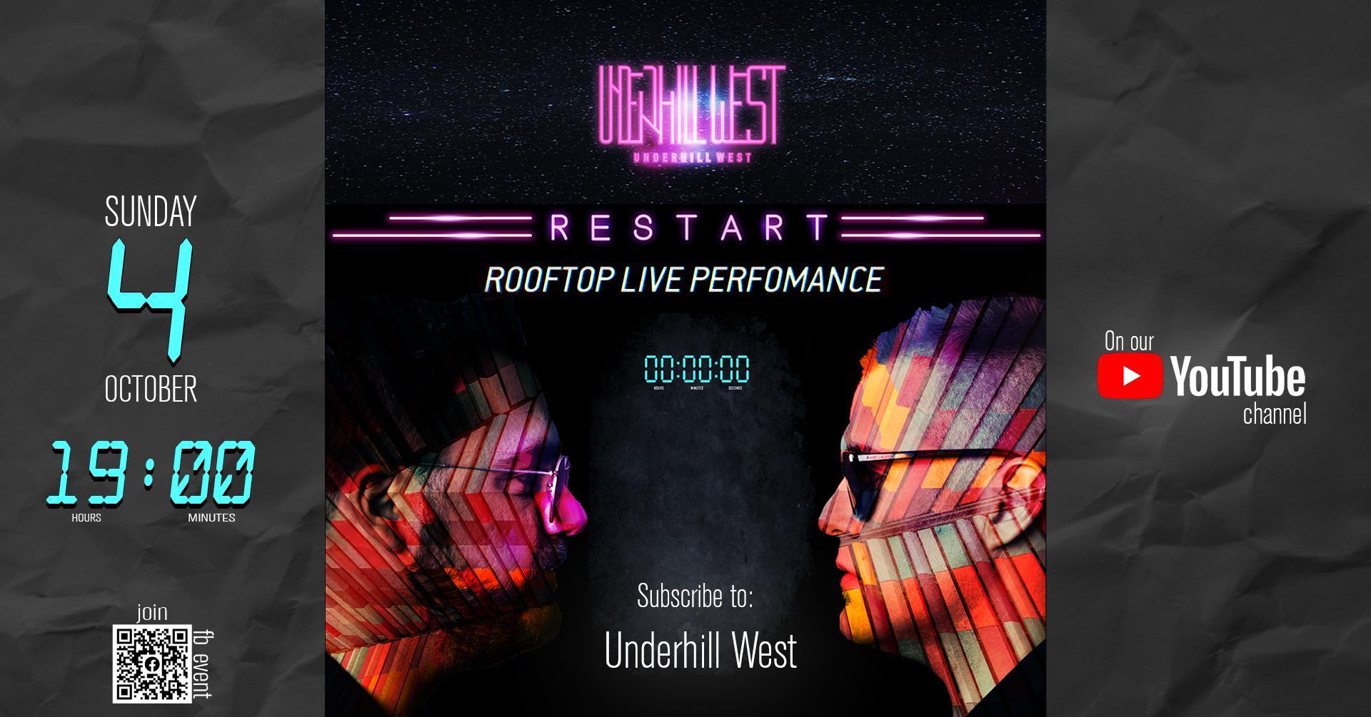 Οι Underhill West παρουσιάζουν online τον νέο τους δίσκο