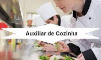 Auxiliar de Cozinha; Cozinheiro