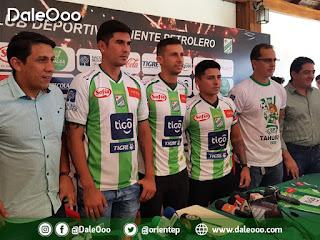 Oriente Petrolero presenta refuerzos para la Temporada 2019 - DaleOoo