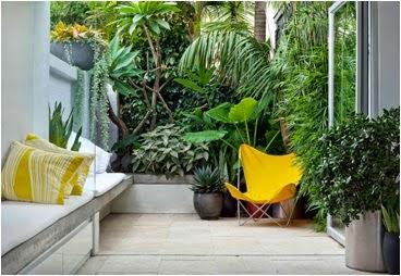 A mi manera un jard n bonito en un espacio peque o for Como disenar un jardin pequeno