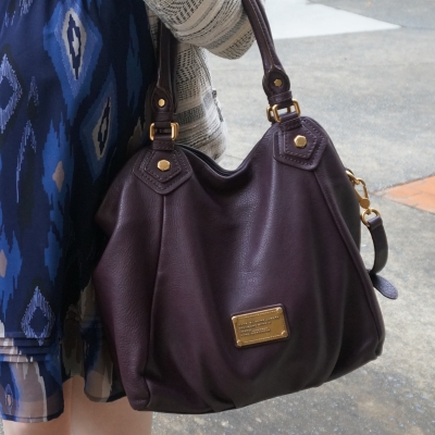 AwayFromTheBlue blog | Marc By Marc Jacobs Classic Q Fran bag with gold hardware in carob brown