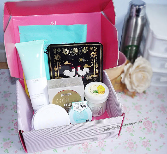 UNBOXING ALTHEA BOX #14 Green and Yellow box